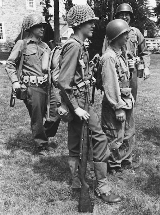 A War Without Blood and Gore: World War II Reenactor Photographs